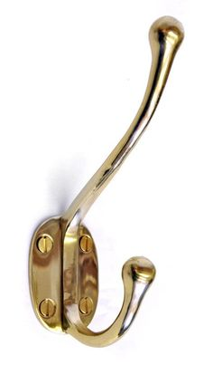 Brass Appleby Coat Hook