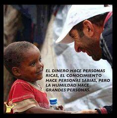 La humildad hace grandes personas