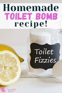 DIY toilet bombs will get your cleaning done in no time. They smell amazing and are fun to make! Isn't it such a hassle to try and find new fun ways to clean around the house? Especially in the bathroom… You may have made a diy all purpose cleaner or one of these 19 homemade cleaners but you really want a safe toilet cleaner. So perhaps it's time to try a fun fizzy cleaning alternative to hazardous toxic toilet cleaners! Green Cleaning Recipes, Natural Cleaning Recipes, Natural Cleaning Products, Natural Products, Fizzy Toilet Bombs, Diy All Purpose Cleaner, Bombe Recipe, Cleaners Homemade, Glass Containers