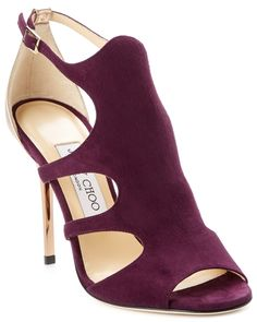"""Spotted this Jimmy Choo """"Tida"""" Suede Sandal on Rue La La. Shop (quickly!)."""