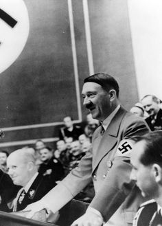 Reichstag meeting at the Krolloper in Berlin - 28.04.1939. (via axishistory)