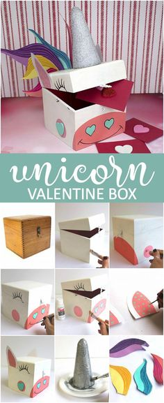 Create this project with Americana®️️ Acrylics — Store those Valentine's cards in this whimsical box made with Americana®️️ Acrylics.