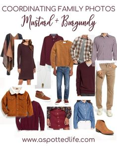 Fall Photo Shoot Outfits, Fall Family Picture Outfits, Family Picture Colors, Family Portrait Outfits, Family Photos What To Wear, Summer Family Pictures, Winter Family Photos, Fall Family Portraits, Large Family Photos