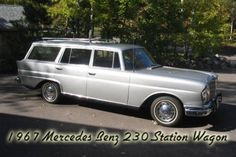 1967 Mercedes Benz 230 Station Wagon Fintail For Sale Front