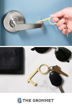 Usable as a door opener, stylus, button pusher, and more, make handling the world a little safer and more sanitary with our handy Careful Key Antimicrobial Door Opener. Cool Tech Gadgets, Cool Technology, Door Opener, Stylus, Product Design, Cool Things To Buy, Household, Objects, Diy Crafts