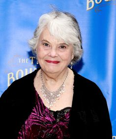 Lois Smith in Arrivals at 'The Trip To Bountiful' Opening Night