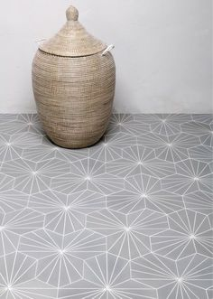 Mosaic Marrakesh traditional cement tile hexagonal reference color LPG gray and B white with white seal Bathroom Flooring, Bathroom Inspiration, Tile Inspiration, Kitchen Flooring, Tiles, Flooring, Remodel, Cement Tile, Hexagon
