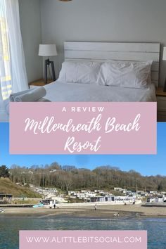 Millendreath Beach Resort is situated roughly 3 miles (7-minute drive) from the nearby fishing town of Looe in the South East of Cornwall. It has a small family-friendly beach with water sports, an onsite cafe, and a beach bar in the spring and summer months. Here is our review.