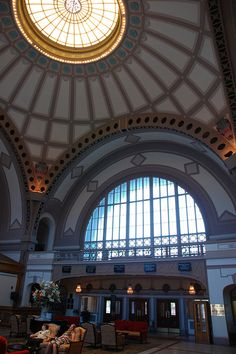 Terminal Station - Chattanooga, Tennessee by fisherbray, via Flickr...now a museum, hotel and restaurant