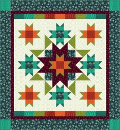 Quilt Patterns : #221 More Than Stars | Nancy Rink Designs