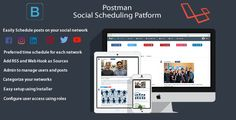Postman (Facebook/ Twitter/ Youtube/ LinkedIn) - Scheduling Platform - https://codeholder.net/item/php-scripts/postman-facebook-twitter-youtube-linkedin-scheduling-platform