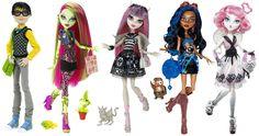 Monster High Main Line V4 V5 Monster High Fashiondolls