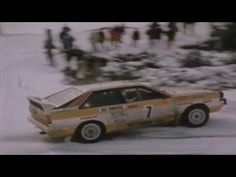 The Story of QUATTRO - Audi all Wheel drive by Walter Terser - YouTube