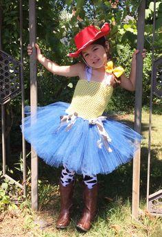 Toy Story Inspired Jessie Tutu Birthday Dress / Halloween Costume