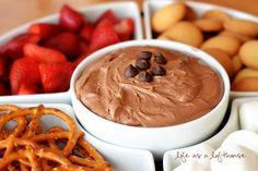 I was searching for a dessert to serve at my Book Club party, and when I saw this dip, I knew it would be perfect! Ohhhh man, was it ever This Brownie Batter Dip is chocolate creamy heaven, my friends (and of course, it's egg-free, so don't panic) Luckily, my friend Chandy and I had... Read More »