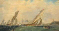 Shipwreck near Gurzuf - Ivan Aivazovsky -WikiPaintings.org - Confusion de titre