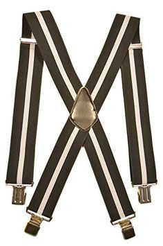 140 kr. Men's XXL Extra Wide, Heavy Duty X-Shape Braces / Suspenders, 5cm - Black with Light Grey Stripe Olata http://www.amazon.co.uk/dp/B00RZ8RUM6/ref=cm_sw_r_pi_dp_R7A4wb128XS5Q
