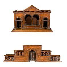 I lust after antique architecture models