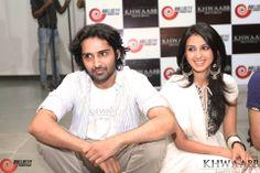 Zaid Ali Khan and Simer Motiani #Khwaabb #DareToDream #KhwaabbTeam #Movie #Sports #Bollywood