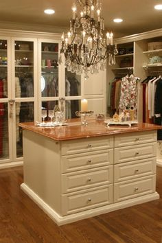 The only thing I ask for in life is a huge closet with an accessory island.