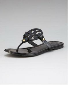 c13b5b639264 One of my favorite pairs of sandals. Women s Tory Burch Miller Logo Flat  Thong Sandal
