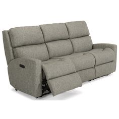 Catalina Power Reclining Sofa w/ Pwr Headrests by Flexsteel