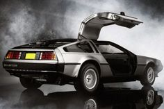 DeLorean Back to the Future Literally