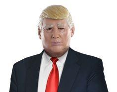 Donald Trump Mask Head Latex Presidential Candidate Republican Party Race Debate #Unbranded #PoliticalCelebrityHalloweenMask #HalloweenMaskFourthofJuly4thPolitical