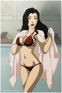 Asami Sato - The legend of Korra