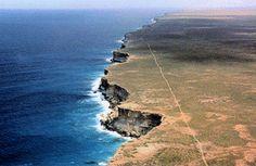 Nullarbor Cliffs, Southern Australia.