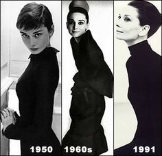 "In an era where voluptuous actresses graced magazine covers and movie screens, Audrey was an anomaly. Her petite, 5'7"" frame and bashful ban..."