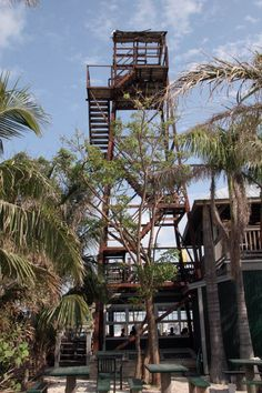 Florida Memory - Observation tower for turtle kraals - Key West, Florida