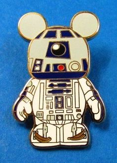 Disney Vinylmation Mystery Pin Collection - Star Wars - R2-D2  Pin