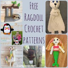These Ragdoll style Crochet patterns are hard to find as the trend is just getting started. You can find 6 of these patterns below. Each crochet pattern is free for you to use. What is a ragdoll ? …