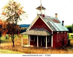 Old School House Classroom   Old Schoolhouse Stock Photo 77395 : Shutterstock