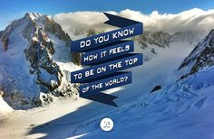 Do you know how it feels to be on the top of the world? - qrator.com