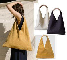 Diy Fashion, Fashion Bags, Denim Bag Patterns, Diy Tote Bag, Origami Tote Bag, Boho Bags, Couture Sewing, Linen Bag, Fabric Bags