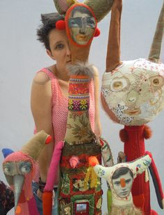 Just discovered Cecille Perra's amazing art doll sculptures - LOVE!
