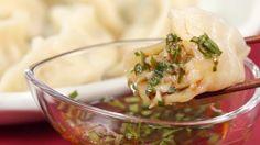 Receta de Sui-Gyoza (Albóndigas camarón hervidas)