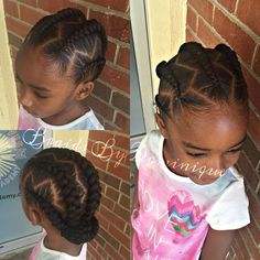 Tips Are you currently bored by the old hairstyles of the ponytail? If so, then try using Universal braid Childrens Hairstyles, Cute Little Girl Hairstyles, Baby Girl Hairstyles, Natural Hairstyles For Kids, Kids Braided Hairstyles, Natural Hair Styles, Teenage Hairstyles, Hairstyles 2016, Black Hairstyles