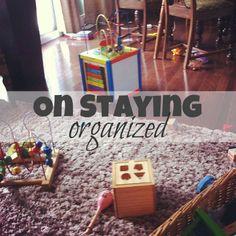 Top 10 Ways To Say Organized: Week To Week