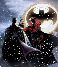 "comicbookbrain:  "" Batman and Batwoman  """
