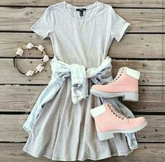 Perfect girly outfit! ❤