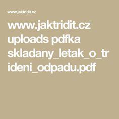 cz uploads pdfka skladany_letak_o_trideni_odpadu. Pdf, Math Equations