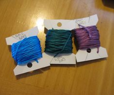 Make your own bobbins for embroidery or crochet thread with only what you have around the house