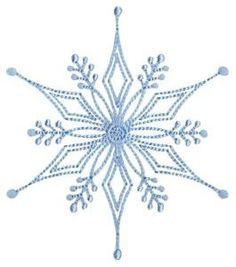 Snowflakes Too Bunnycup Embroidery machine embroidery design. Snowflakes Too is a very fun and whimsical set of snowflake embroidery designs that would be great for linens, tree skirts, stockings and so much Snowflake Embroidery, Crochet Snowflake Pattern, Crochet Snowflakes, Christmas Embroidery, Cross Stitch Embroidery, Crochet Pattern, Beginner Embroidery, Simple Embroidery, Vintage Embroidery