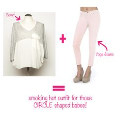Shop your shape, not your size! Circle Shape, Triangle Shape, Inverted Triangle, Hot Outfits, Girls Shopping, A Boutique, Body Shapes, Geek Stuff, Dressing