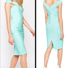 ‼️COMING SOON‼️ NWT ASOS STUNNING MINT DRESS This is such a beautiful and classy dress with a fabulous fit. Gorgeous mint color and NWT ASOS Dresses