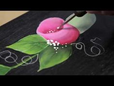 How to Paint Rosebuds with Priscilla Hauser - YouTube