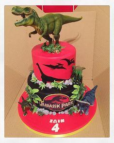 #dinosaurcake #jurrasicpark #jurrasicparkcake #dinosaur #dinosaurs #dinosaurscake #jurrasic #jurrasiccake #theme #kids  ...